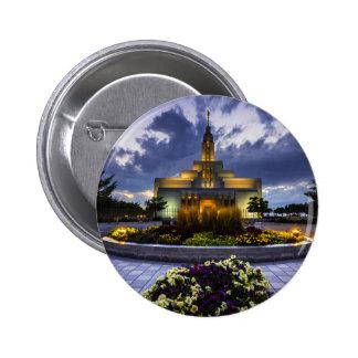 Draper Mormon Lds Temple - Utah 2 Inch Round Button