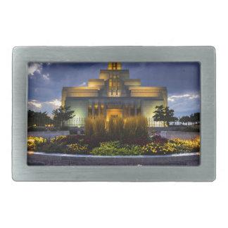 Draper Mormon Lds Temple - Utah Belt Buckle