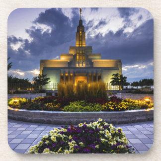 Draper Mormon Lds Temple - Utah Drink Coasters