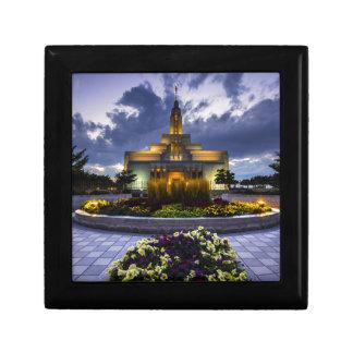 Draper Mormon Lds Temple - Utah Jewelry Boxes