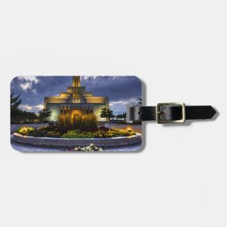 Draper Mormon Lds Temple - Utah Luggage Tag