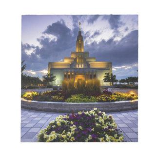 Draper Mormon Lds Temple - Utah Notepads