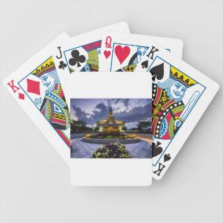 Draper Mormon Lds Temple - Utah Poker Deck