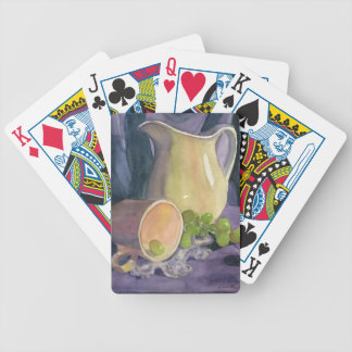 Drapes and Grapes Bicycle Playing Cards