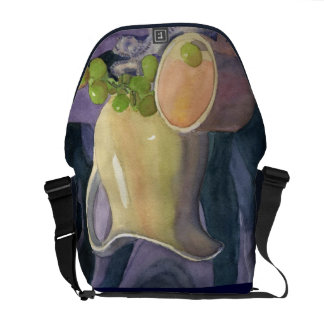 Drapes and Grapes Commuter Bag