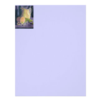 Drapes and Grapes Personalized Letterhead