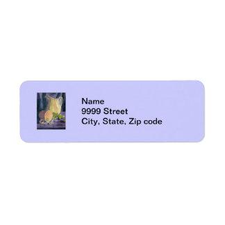 Drapes and Grapes Return Address Label