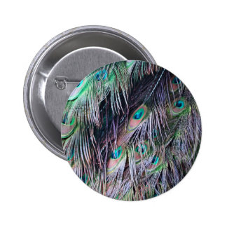 Draping Eyes 2 Inch Round Button