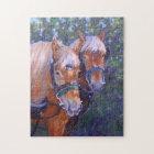 Draught   Horses Fine Art Puzzle