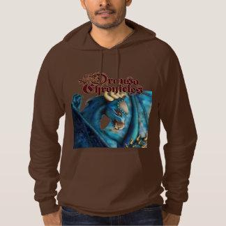 Drauso's Sapphire Dragon clothing Hoodie
