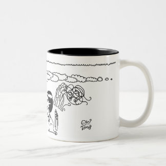 Draw Me Two-Tone Coffee Mug