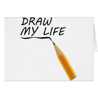 Draw my life card
