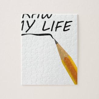 Draw my life jigsaw puzzle