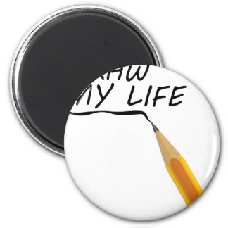 Draw my life magnet