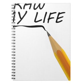 Draw my life notebooks