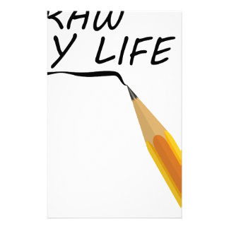 Draw my life stationery