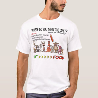DRAW THE LINE  CARNISM T-Shirt