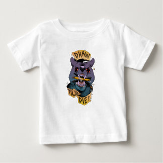 Draw til you die baby T-Shirt