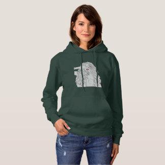 Drawing a girl hoodie