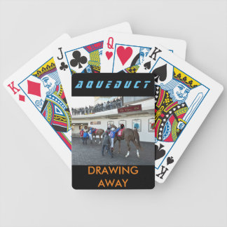 Drawing Away Stables Bicycle Playing Cards