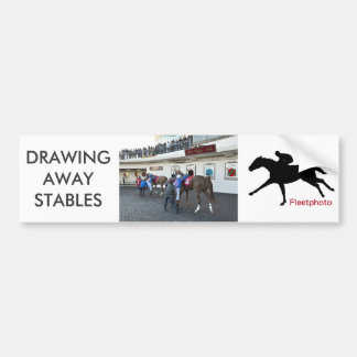 Drawing Away Stables Bumper Sticker