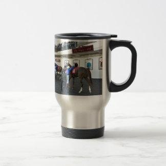 Drawing Away Stables Travel Mug