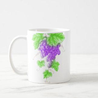drawing grape mug