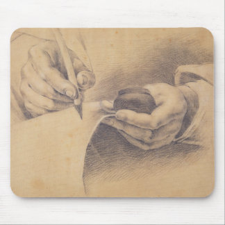 Drawing Hands 1798 Mouse Pad