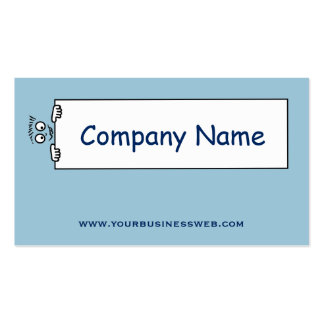 Drawing head, board in hand. pack of standard business cards