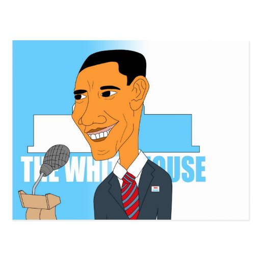 Drawing Obama 2012 Postcards