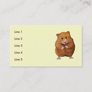 Cute Hamster Drawing Office School Products Zazzle Ca