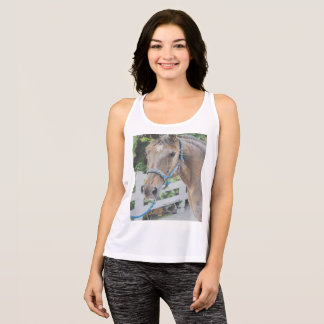 Drawing of a Roan Tennessee Walker Tank Top