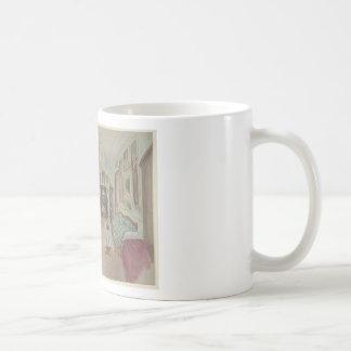 Drawing of an Interior- Cabinet du Salon Coffee Mug