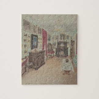 Drawing of an Interior- Cabinet du Salon Jigsaw Puzzle