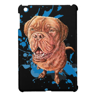 Drawing of Brown Mastiff Dog Art and Paint Case For The iPad Mini