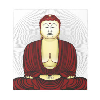 Drawing of Buddha Notepad