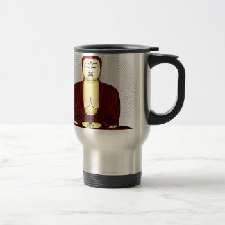 Drawing of Buddha Travel Mug
