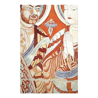 Drawing of Central Asian Buddhist Monks Stationery