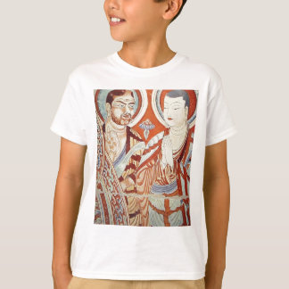 Drawing of Central Asian Buddhist Monks T-Shirt