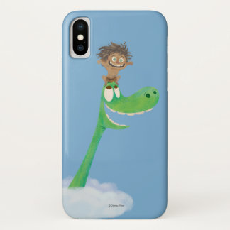 Drawing of Spot And Arlo In Clouds Case-Mate iPhone Case