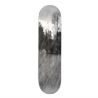 Drawing pond small Island Skate Board Decks