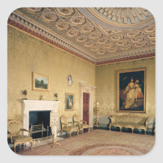 Drawing-room by Adam, c.1770-80 Stickers