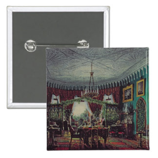 Drawing Room of Empress Alexandra 2 Inch Square Button