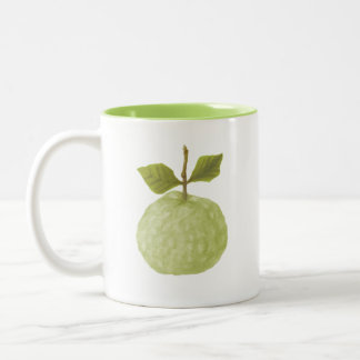 drawing weird guava fruit mug