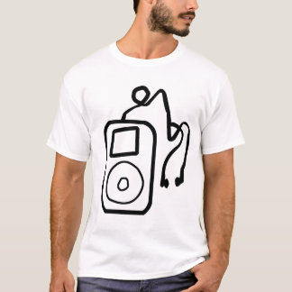 Drawn iPod Contrast Tee Tshirt Shirt