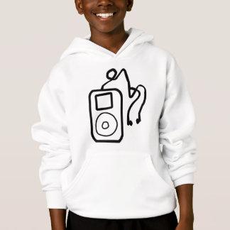 Drawn iPod Hoodie