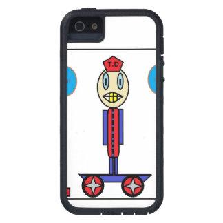 Drawn skating kid iPhone 5 case