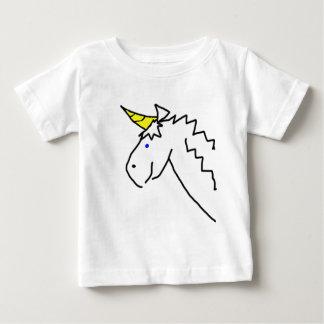 Drawn Unicorn Baby T-Shirt