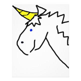 Drawn Unicorn Letterhead