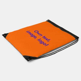 Drawstring Backpack uni Orange